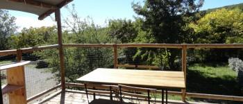 location cabane lodge pilotis Luberon