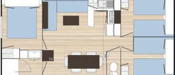 Plan home Flower 30m²