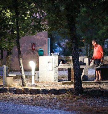 barbecue collectif à l'epi bleu