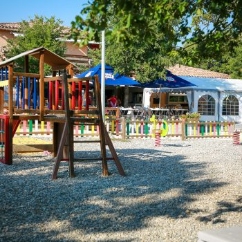Espace de jeu camping Epi Bleu