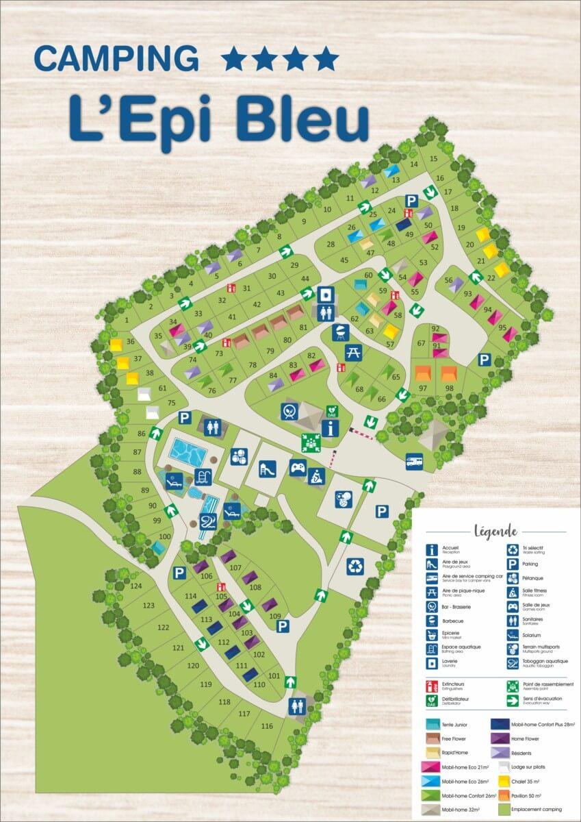 plan camping epi bleu